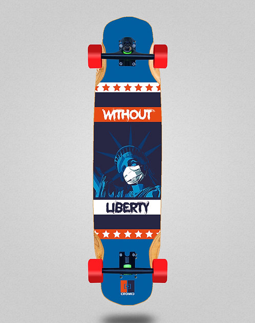 Cromic Covid Without liberty longboard complete 38x8.45