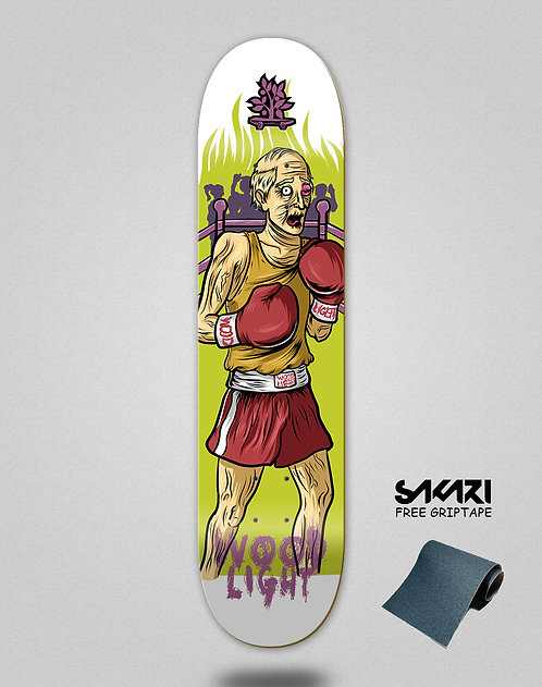 Wood light skate deck Lifestyle series boxing