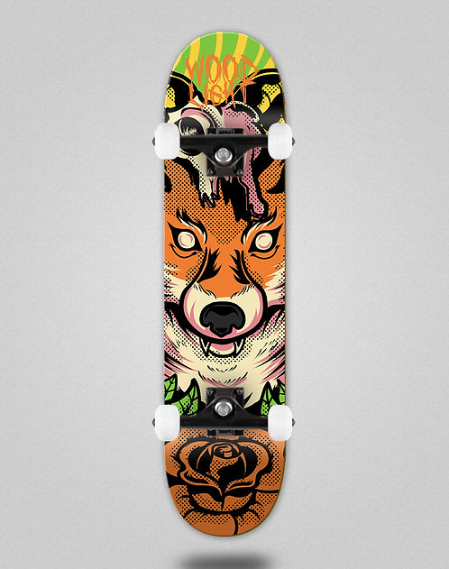 Wood light Animal fight fox skate complete