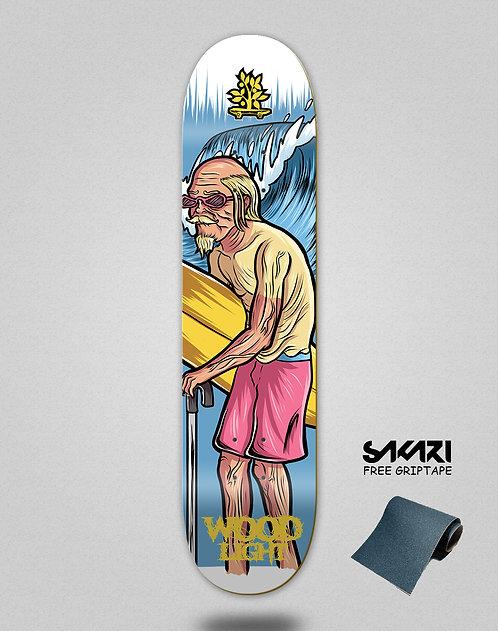 Wood light skate deck Lifestyle series surf