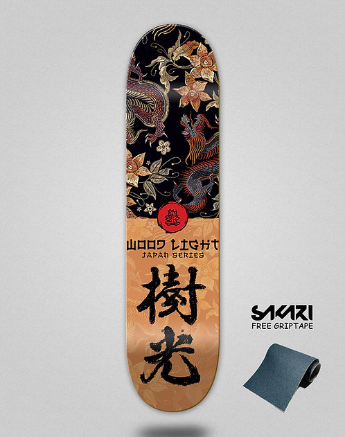 Wood light skate deck Japan series furia
