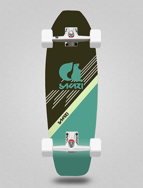 Sakari surfskate - Vinart blue 31,5