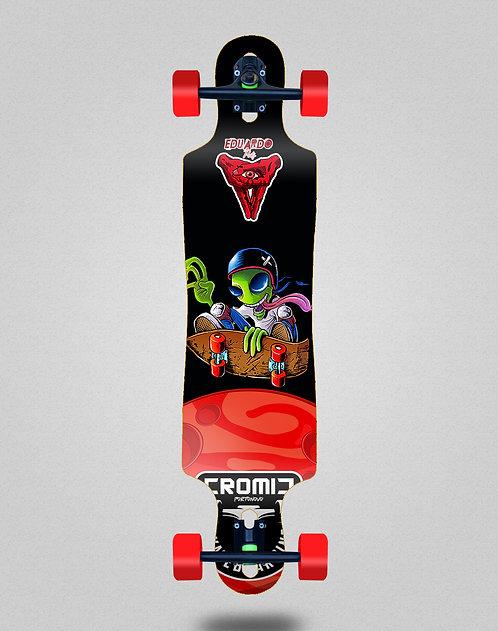 Cromic Eduardo Prieto Air alien longboard complete 40x9