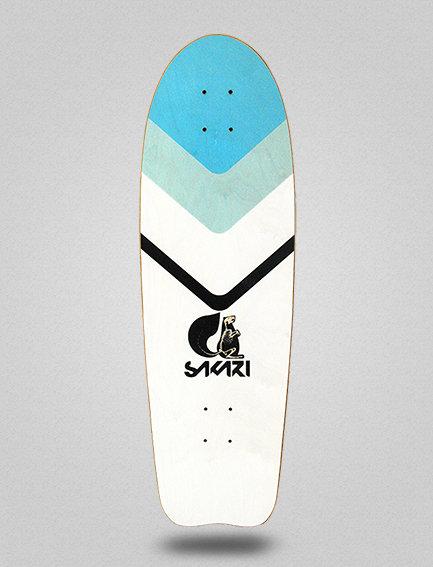 Sakari surfskate deck - Slate 31