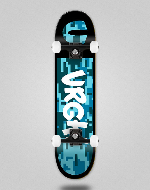 Urgh Camo blue skate complete