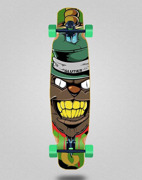 Glutier Gr cat green longboard dance complete 46x9