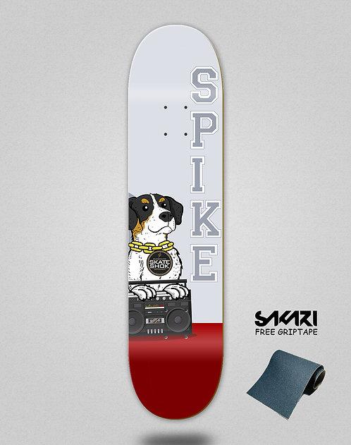 Skate shok deck Spike red