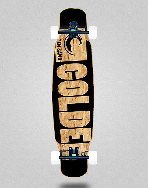 Golden Sand Degraded carton longboard dance complete 46x9