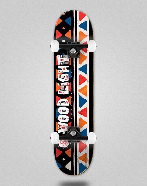 Wood light Serape line skate complete