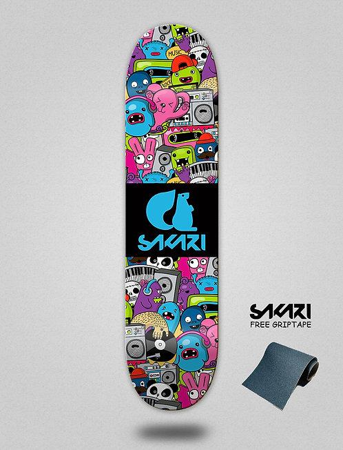 Sakari Hard party skate deck