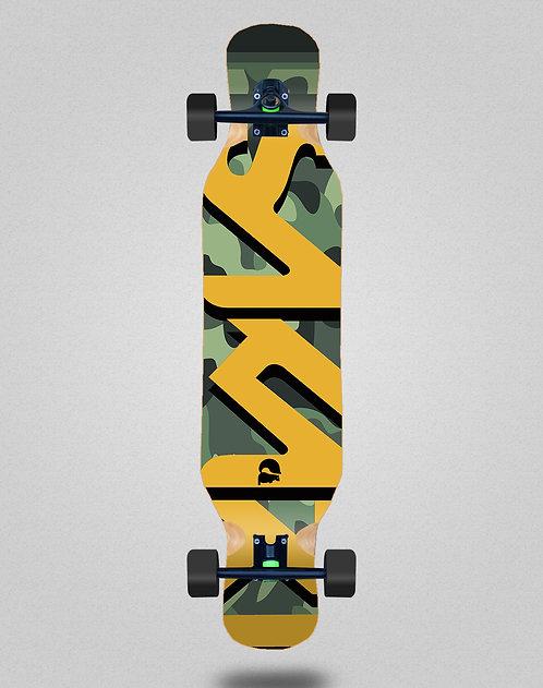 Sakari Camo longboard complete 46x10