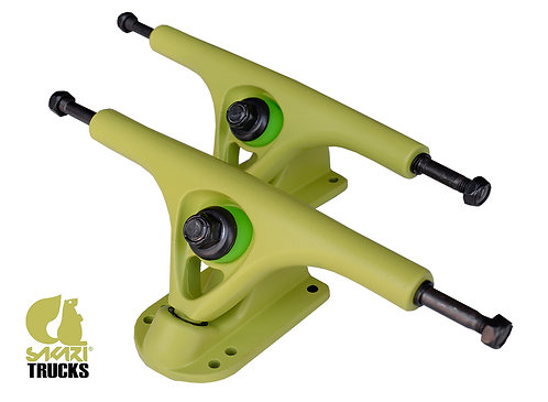 Sakari longboard trucks 180mm 45º(set 2) lime