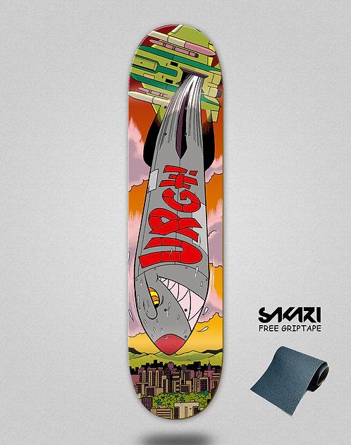 Urgh skate deck Bomb