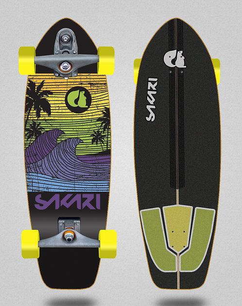 Sakari surfskate T12 - Cali dream yellow 31