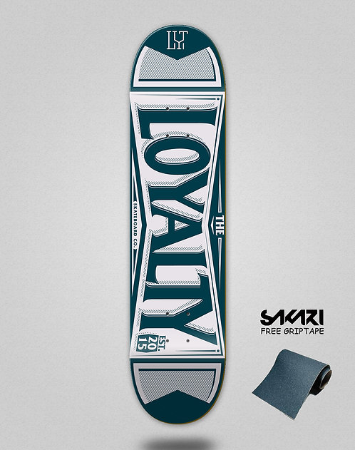 Loyalty deck Label navy
