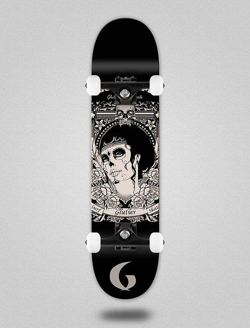 Glutier Guadalupe black skate complete