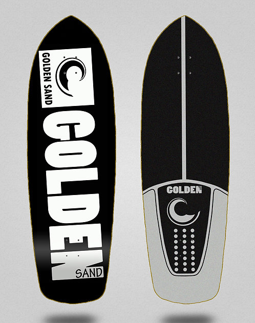 Golden Sand deck - Degraded blk white 34