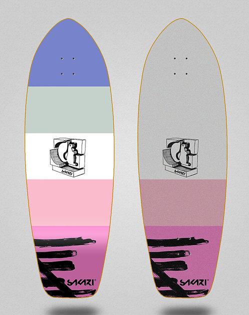 Sakari surfskate deck - Cream 31