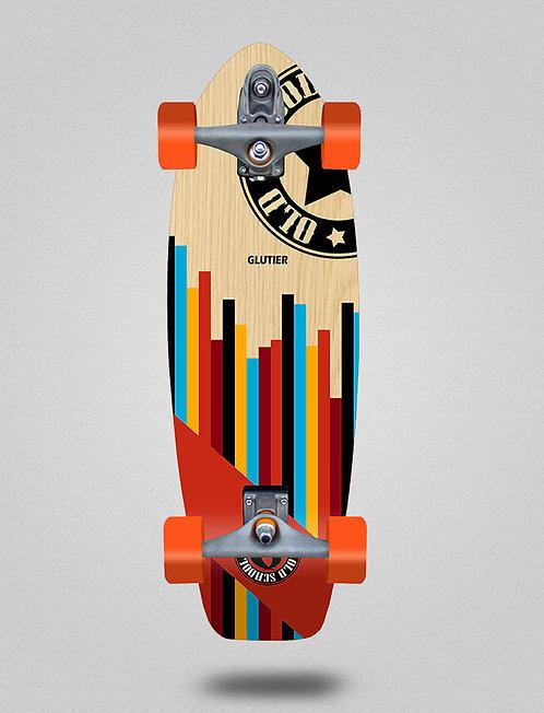 Glutier surfskate : Old school 31