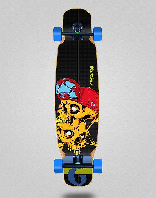 Glutier Hip skulls longboard dance complete 46x9