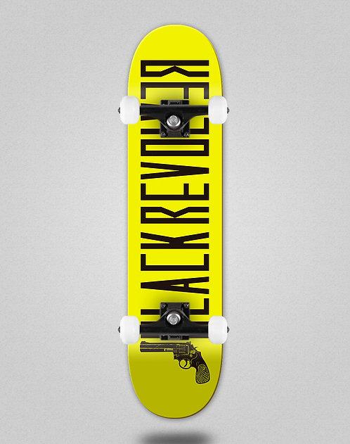 Black Revolver Color yellow black skate complete