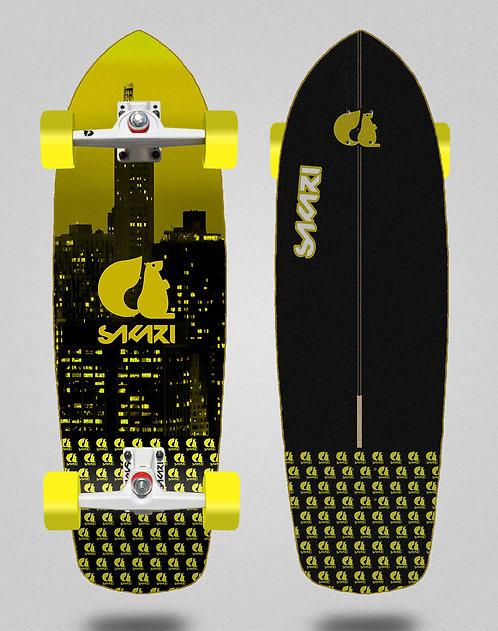 Sakari surfskate - City yellow 34