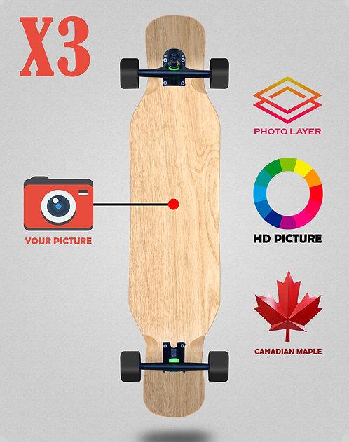 Personalizador longboard complete 46x9 X3 unidades