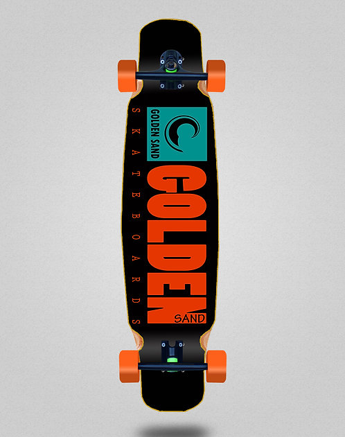 Golden Sand icon turquoise longboard dance complete 46x9