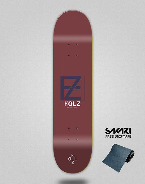 Holz Basic blood navy skate deck