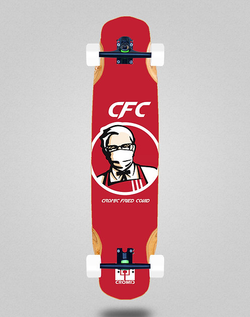Cromic Covid Fried longboard complete 38x8.45