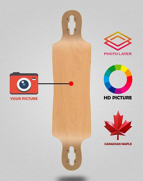 Personalizador longboard decks 40x9