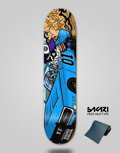Skate shok deck Pepe Arancibia blue