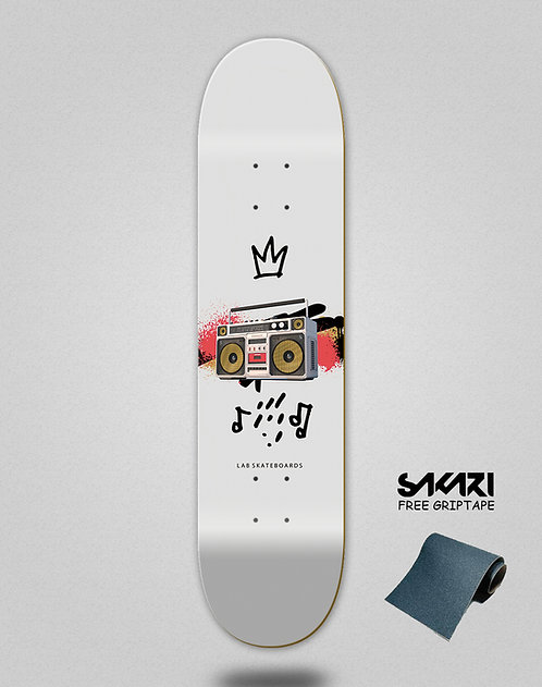 Lab skate deck Boom box