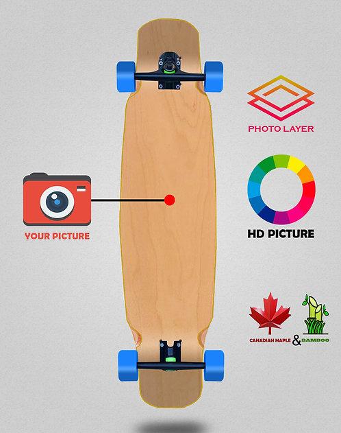 Personalizador longboard complete mix bamboo 46x9
