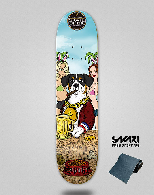 Skate shok deck Spike Dog