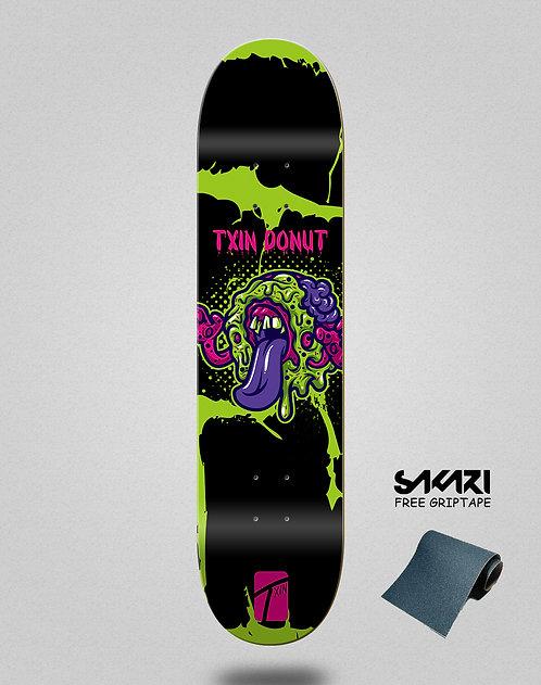 Txin Donut zombie skate deck