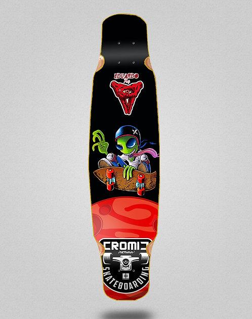 Cromic Eduardo Prieto Air alien longboard deck mix bamboo 46x9