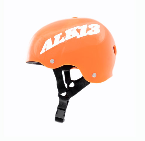 Alk13 Helmet H2O Orange white