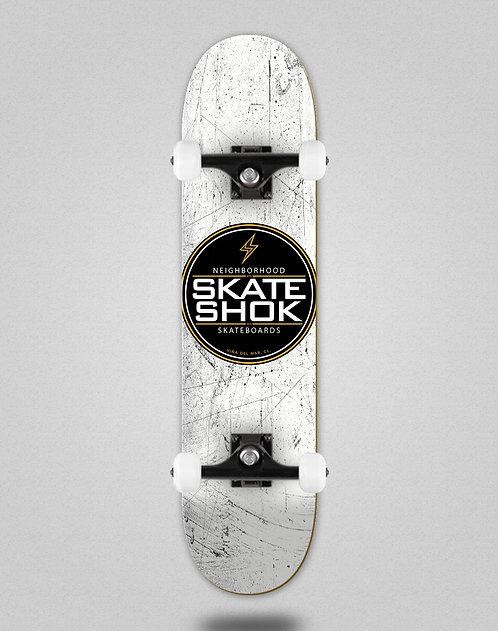 Skate shok complete Logo white