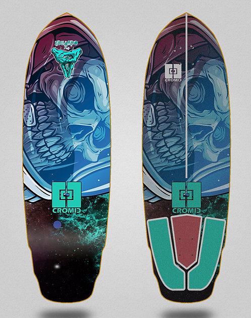 Cromic surfskate deck Eduardo Prieto Space dead 32