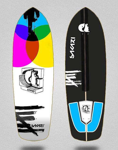 Sakari surfskate deck - Chroma 34