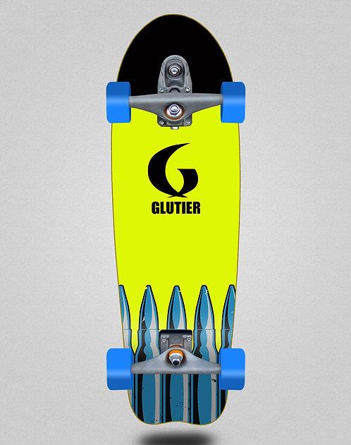 Glutier surfskate : Bullets fluor 31