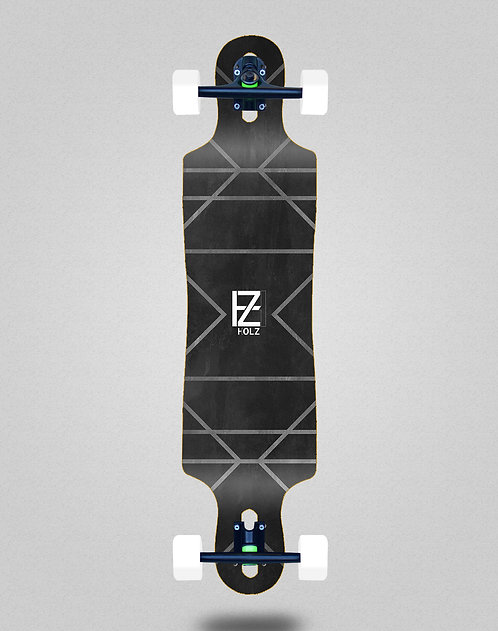 Holz Gram lux longboard complete 40x9