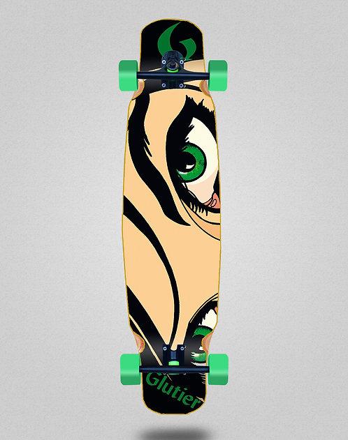 Glutier Drili eyes longboard dance complete 46x9