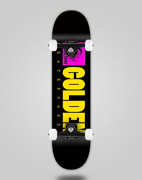 Golden Sand icon black pink yellow skate complete