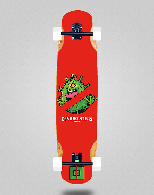 Cromic Covid Busters longboard complete 38x8.45