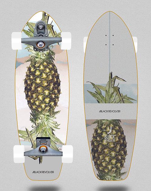 Black Revolver surfskate T12 trucks Rotten fruit 3 31