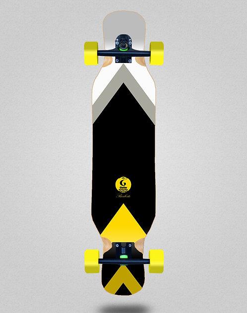 Glutier Barbeito longboard complete 46x10