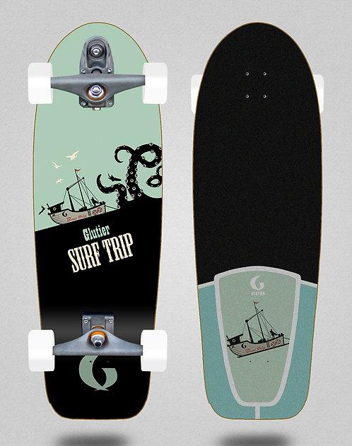 Glutier surfskate : Boat trip 30.5 T12 trucks