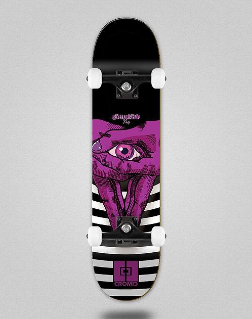 Cromic Eduardo Prieto Vision purple skate complete